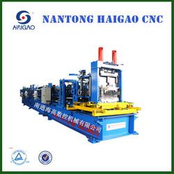 zinc roofing sheet making machine/ storage rack roll forming machine