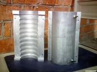 industrial liquid cooled cast in heater element