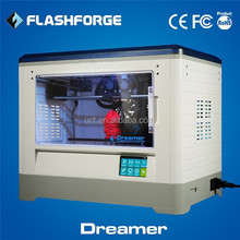 Dual Extruders Touchscreen WI-FI Function Flashforge Dreamer 3D Printer Closed casing Thermostat System lasted model CE ISO9001