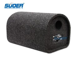 Suoer Factory Price Tunnel Car Audio Subwoofer 10 Inch Car Speaker Subwoofer