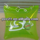 pvc travel beach pillow bag