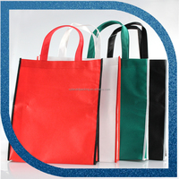 Recyclable non woven cloth bag. Best selling nonwoven drawstring bag