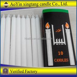 wedding candles church cheap Candles 70%paraffin wax and 30%stearic acid