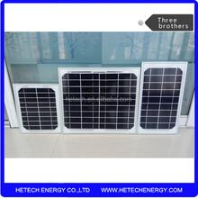 Small monocrystalline 6v solar panel 3w 5w and 10w