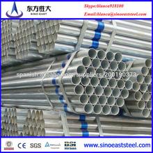 tubos redondos galvanizados
