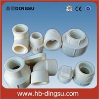 """BS Thread 1/2""""-2"""" PVC Pipe Fittings PVC Nipple / PVC Male Coupling"""