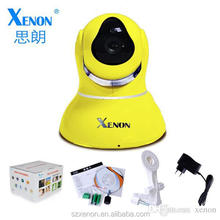 P2P(Plug and Play) HD 64GB SD card, two-way audio,Wireless,remote internet viewing,motion detection PT IP Camera 2015