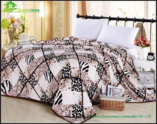 Printed flannel fleece smart blanket for baby and gift set,polyester bedding quilts,Bedding Blanket,GVMT10243