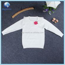 Spring&Autumn Soft Pullover Snowflake Sweater Sweatshirt Design for Girls