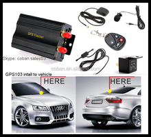 GPS tracker car real time tracking&monitoring easy install cheap mini gps tracker tk 103