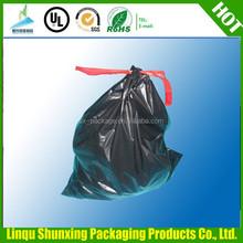 pe garbage bag manufacturing / plastic bag from china / drawstring garbage bag