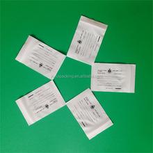 writeable medical zip lock bag/plastic medical bag/pill bag