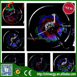 top selling best price programmable wheel led monkey light bike