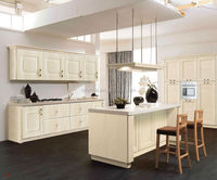 Water resistant high gloss white kitchen cabinet pvc edge banding wood mdf