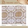 Bailong Hot Sale Fashion Sunflowers Watersoluble Lace Fabric(BLF759)