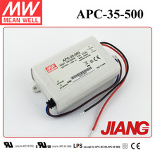 35W 500mA Constant Current LED Driver APC-35-500 Meanwell Single Output Switching Power Supply