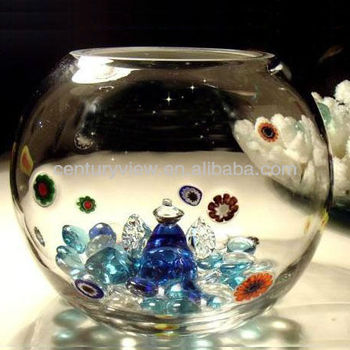 Hand made clear fish bowl glass bowls wholesale view for Fish bowls in bulk