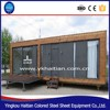 Wooden container house / prefabricated glass contianer home for sale