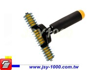 "JSY-1081-1 5"" Spike Wheel Welding tool Sealing tool Carpet Seam Roller"