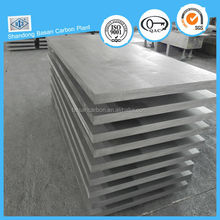 High hardness graphite plate for plate electrode