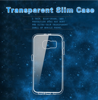 TPU soft wholesale cell phone case for Samsung S6 G9200 SM-G920F