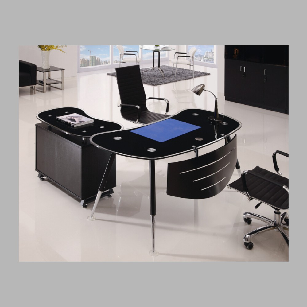 Innovative China Office Furniture 16m Melamine Modern Double Desk Home Office