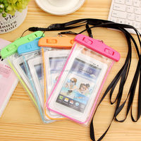2015 top selling Pouch Phone cases Waterproof bag for iPhone 6/6 Plus/5S 5C 5 4S for Samsung Galaxy S6/S5/S4