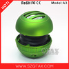 2015 Hot selling USB ball speaker with li-ion battery