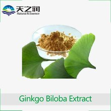 GMP certified Ginkgo Biloba leaf extract supplement softgel capsules