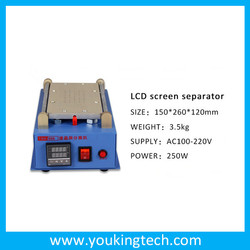 2015 new arrival for iPad for Samsung for iPhone Built-In Air Vacuum Pump LCD Separator Machine