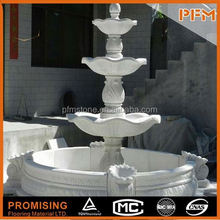 PFM Chinese outdoor tiers fountain outdoor jumping jet with mist fog jet water fountain