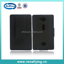Heavy duty belt clip holster combo protective cover case for Nokia 503 alibaba China