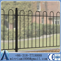 Zinc Steel Wire Net Fence/ornamental Steel Fence