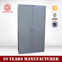Professional 2 door changing room staff clothing metal locker