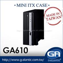 GA610 Mini ITX Case for media center computer(HTPC)