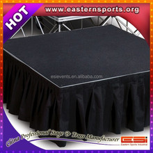 ESI 2015 popular cute stage in other trade show equipment for wedding and events and concert with durable stages