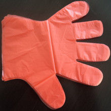 Marketable Product Widely Used in Home and Garden one size fits all disposable red gloves