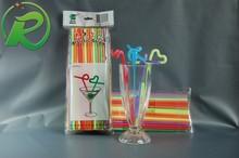 lovely novelty crazy straws flexible plastic drinking straws