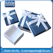 hot selling professional most popular custom design Valentine's gift jewelry box with soft touch paper