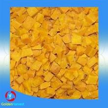 Haccp certification IQF pumpkin dice for wholesale/ Delicious tasty frozen pumpkin vegetable