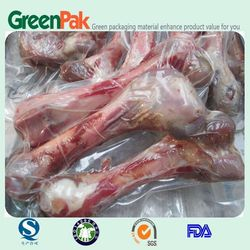 PA/PE 3 side sealed vacuum bags for chicken