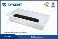 good quality office furniture wire cable grommet box