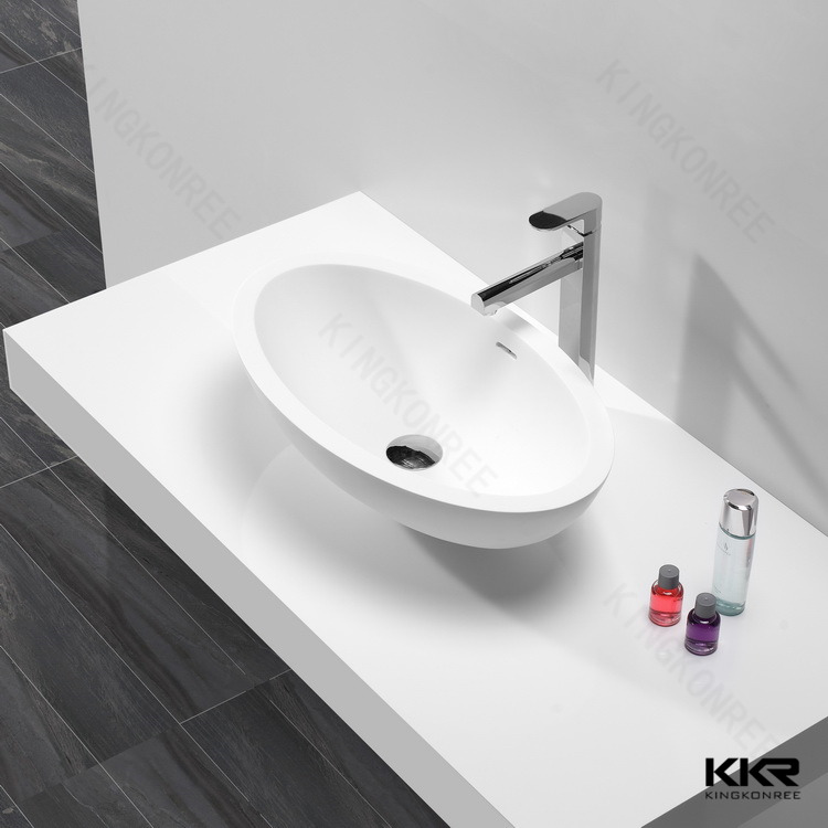 Bathroom Sink Table : Square Solid Surface Sink Table Top Bathroom Basins - Buy Table Top ...