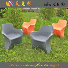 Recycling PE plastic table and chairs multicolored used big lots outdoor furniture