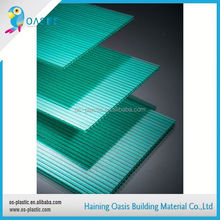 With 9 years experience factory directly plastic sheet light diffuse lexan hollow polycarbonate sheet for solar panel