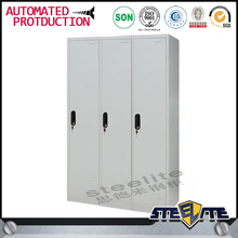 Beach Changing Room 3 Swing Door Steel storage cubicle,iron cabinets