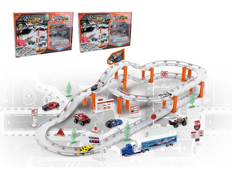 2015 date city rail train parking solide construction garage jouets c autres jouets loisirs id. Black Bedroom Furniture Sets. Home Design Ideas