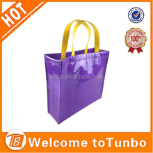 2015 High quality luxury garment shopping bag clear PVC bag