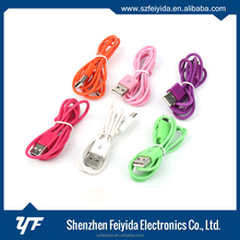 Removable assembly type 5pin PVC usb cable for transfer data