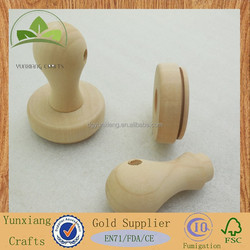 High quality wooden stamp handle , wooden kids stamp toys
